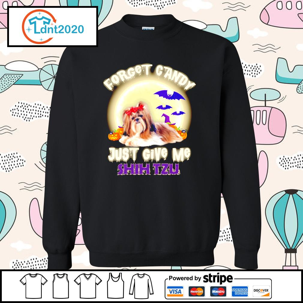 Halloween forget candy just give me Shih Tzu s sweater