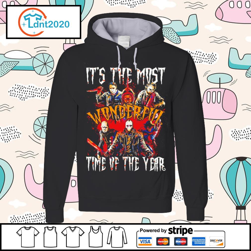 Horror movies characters it's the most wonderful time of the year Halloween s hoodie