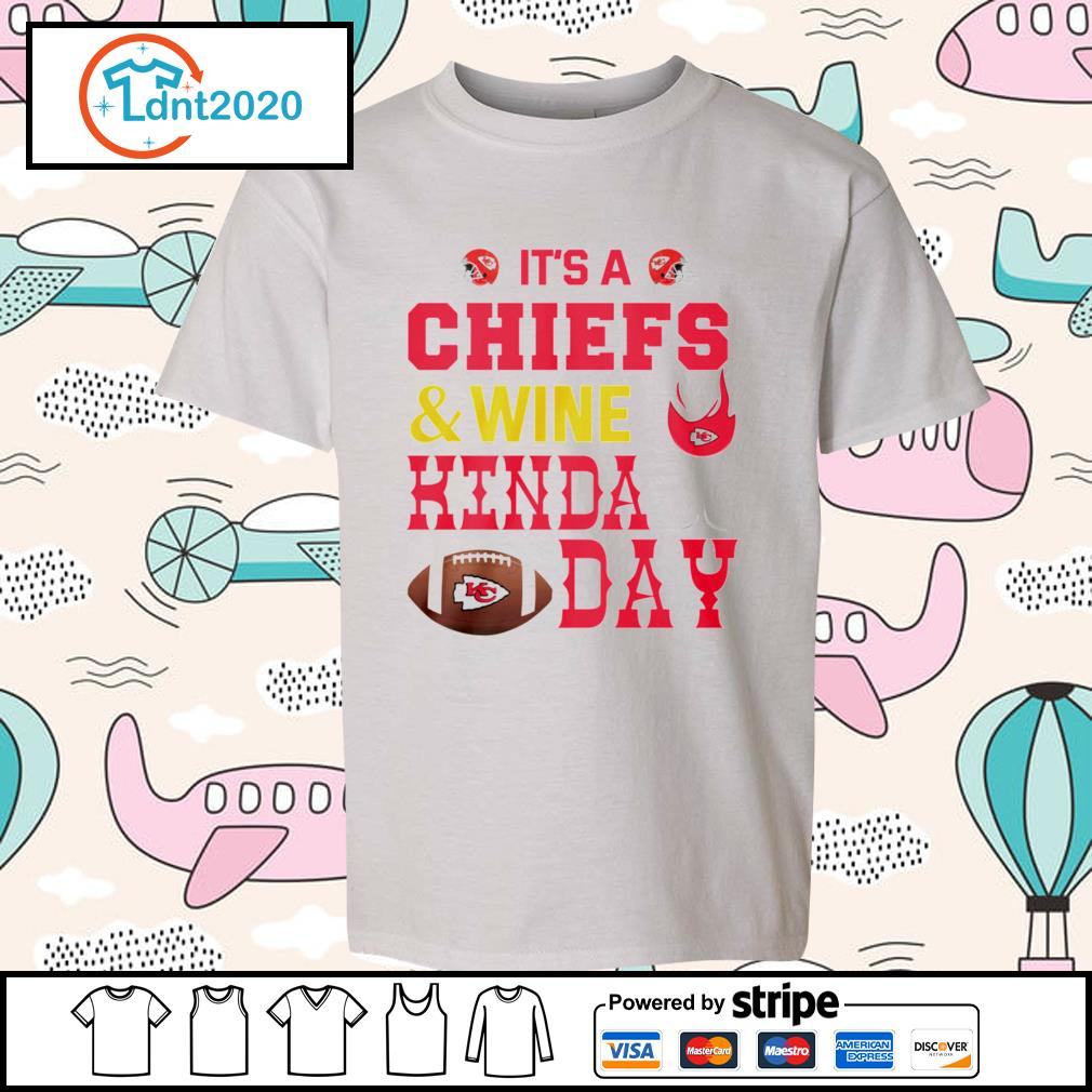 It's a Kansas City Chiefs and wine kinda day s youth-tee