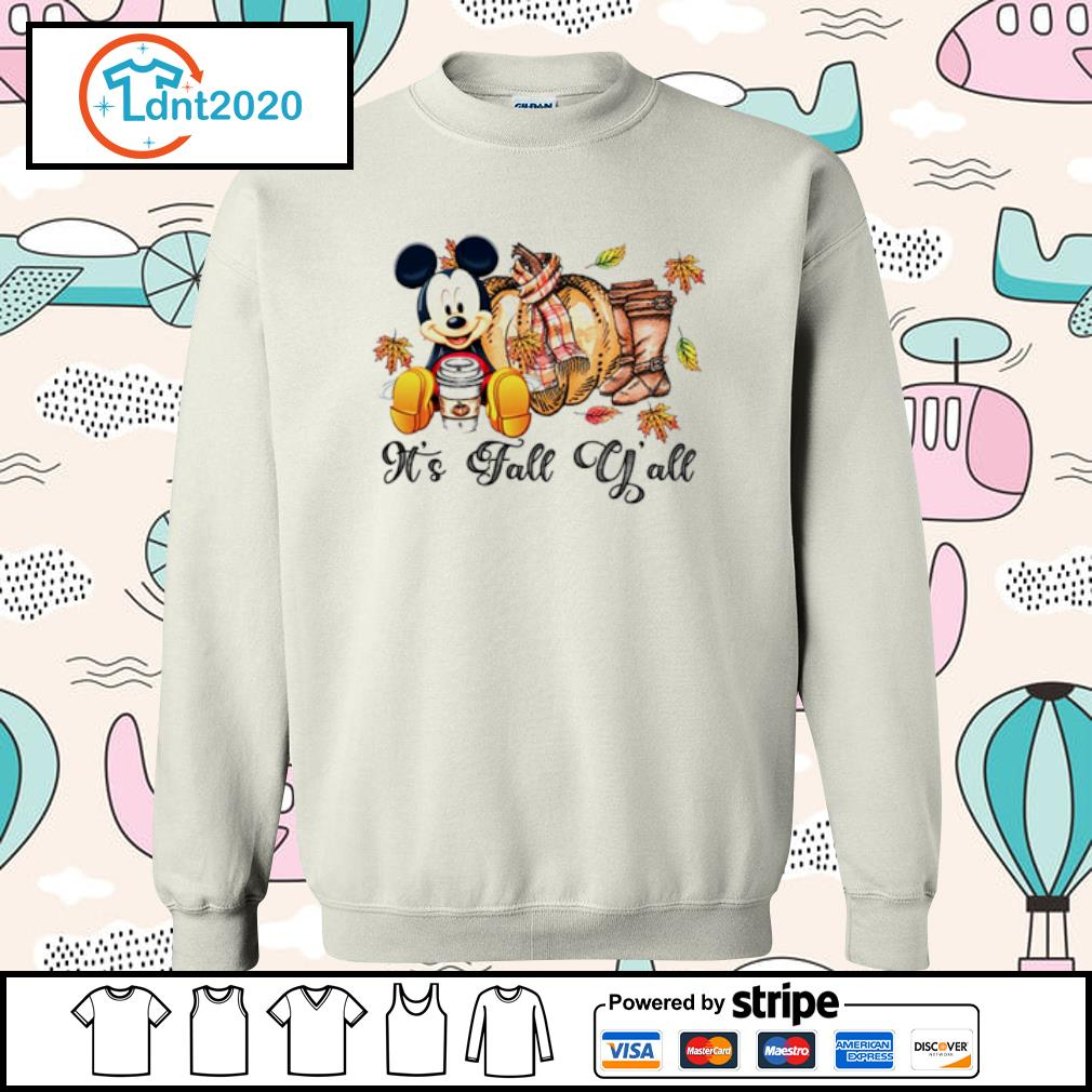 It's fall y'all mouse mickey s sweater