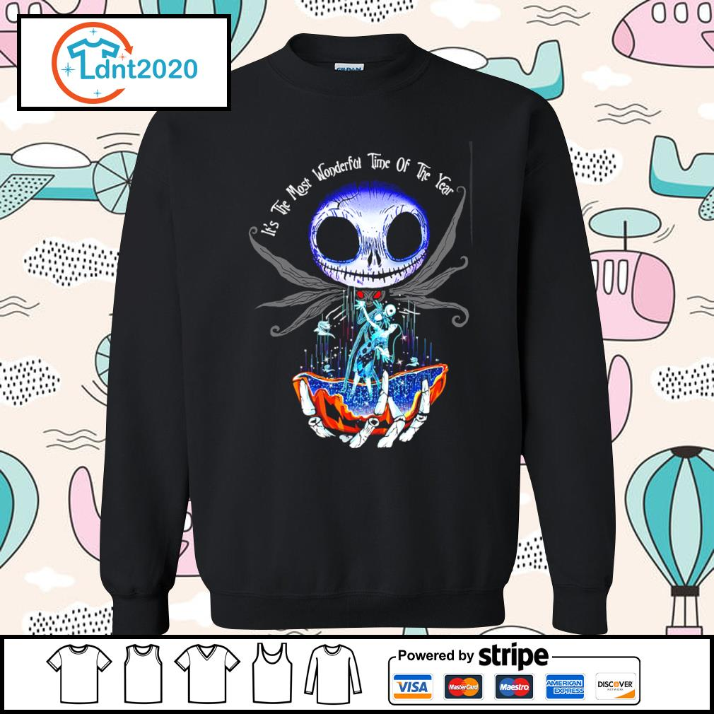 Jack Skellington and Sally it's the most wonderful time of the year s sweater