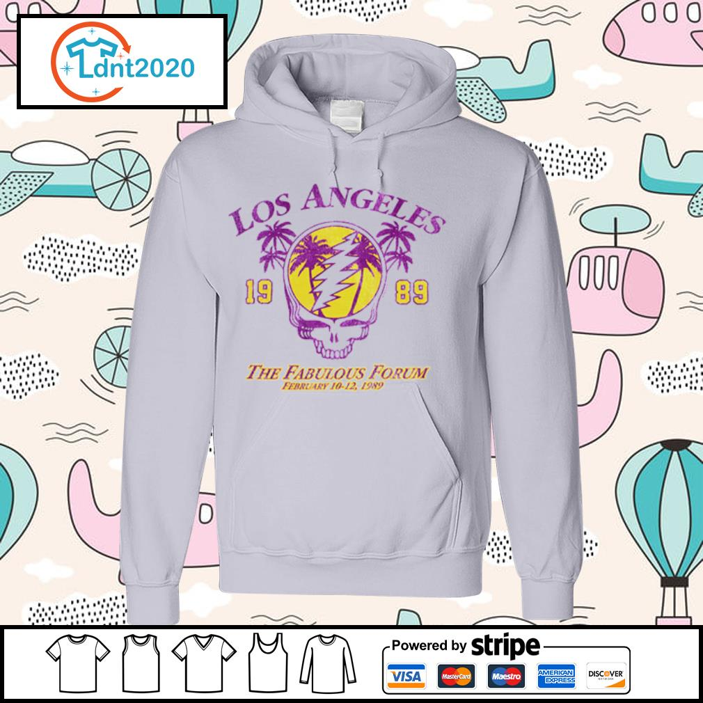 Lost Angeles the fabulous forum February 1989 s hoodie