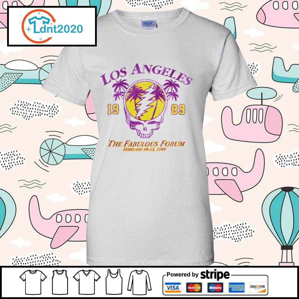 Lost Angeles the fabulous forum February 1989 s ladies-tee