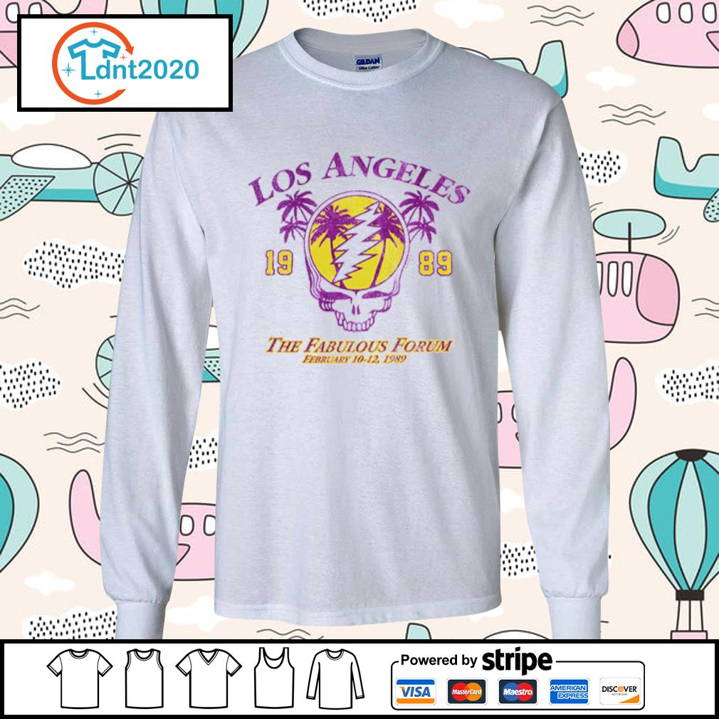 Lost Angeles the fabulous forum February 1989 s longsleeve-tee