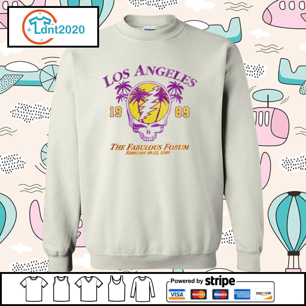 Lost Angeles the fabulous forum February 1989 s sweater