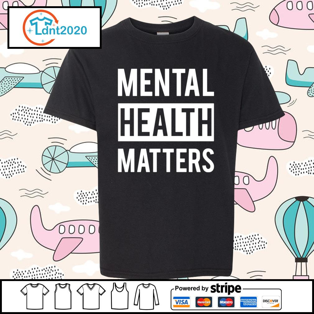 Mental health matters s youth-tee