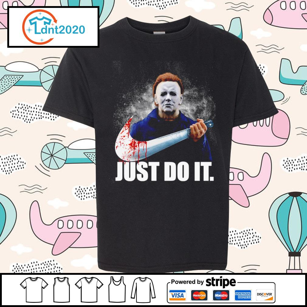 Michael Myers Nike just do it s youth-tee