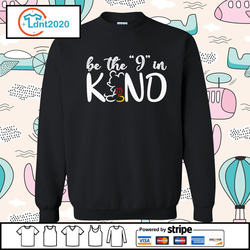 Mickey Mouse be the I in kind s sweater