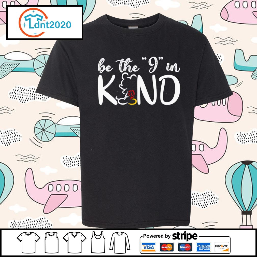 Mickey Mouse be the I in kind s youth-tee