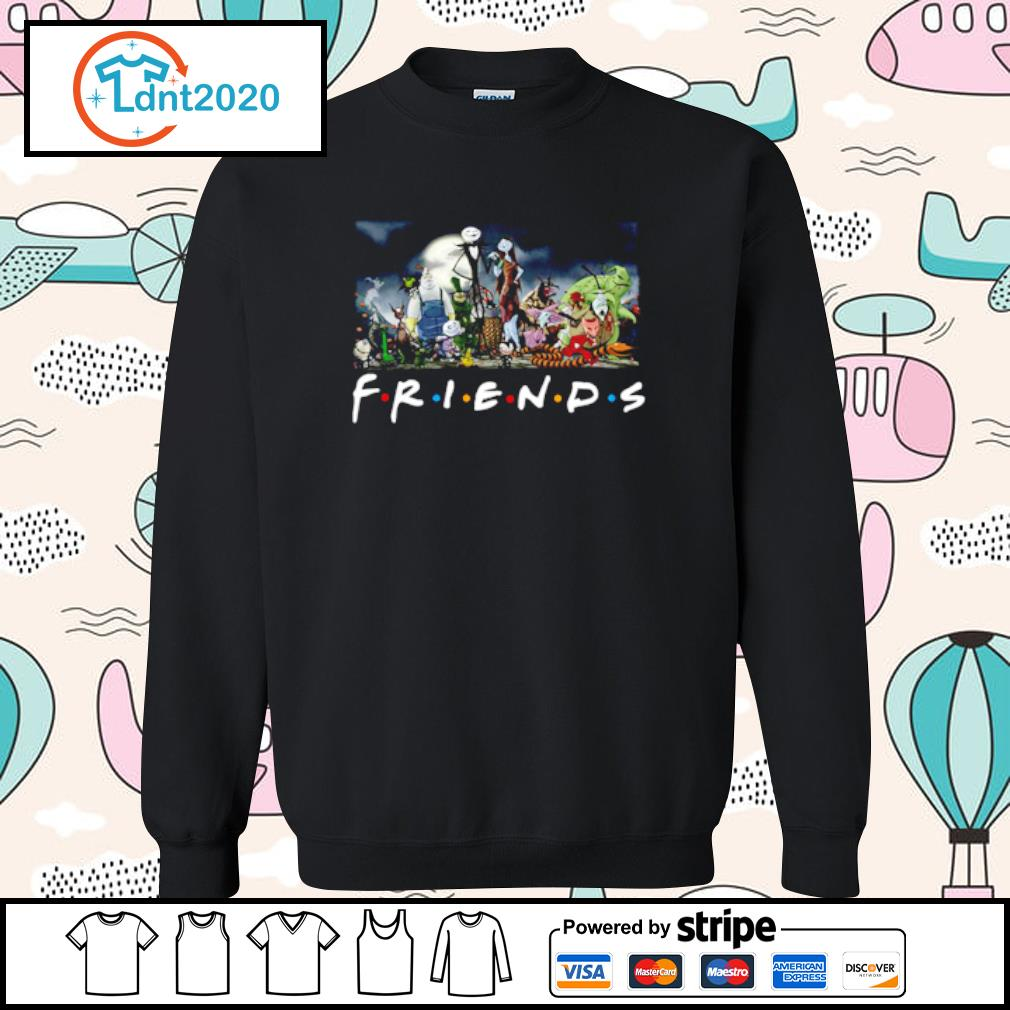 Nightmare Before Christmas characters Friends s sweater