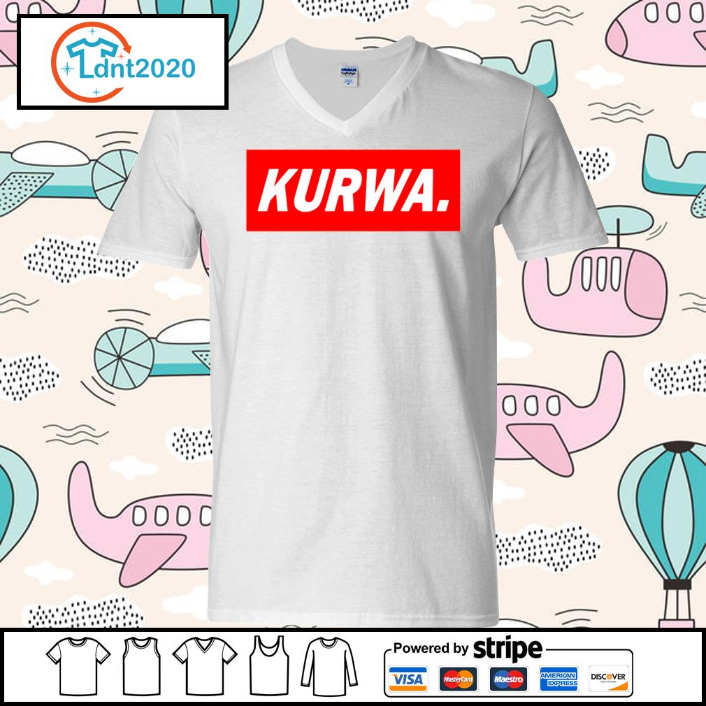 Official Kurwa s v-neck-t-shirt