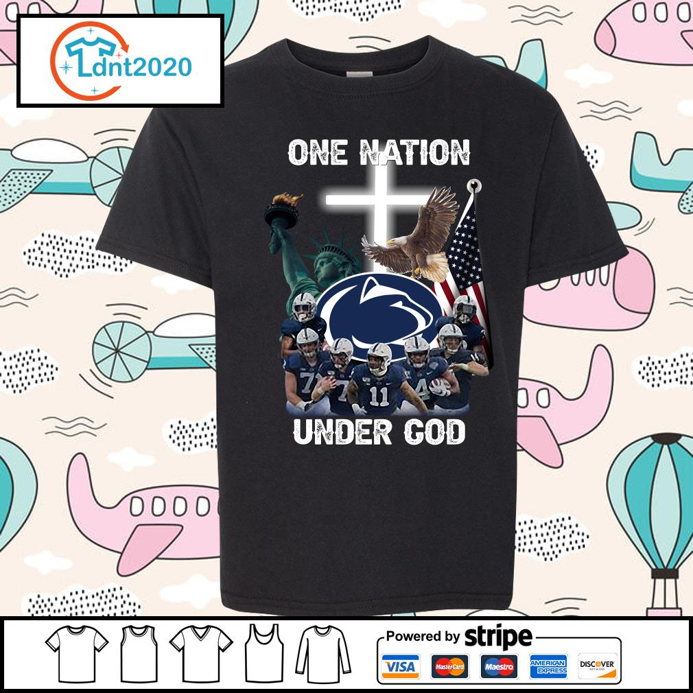 Penn State Nittany Lions one nation under god s youth-tee