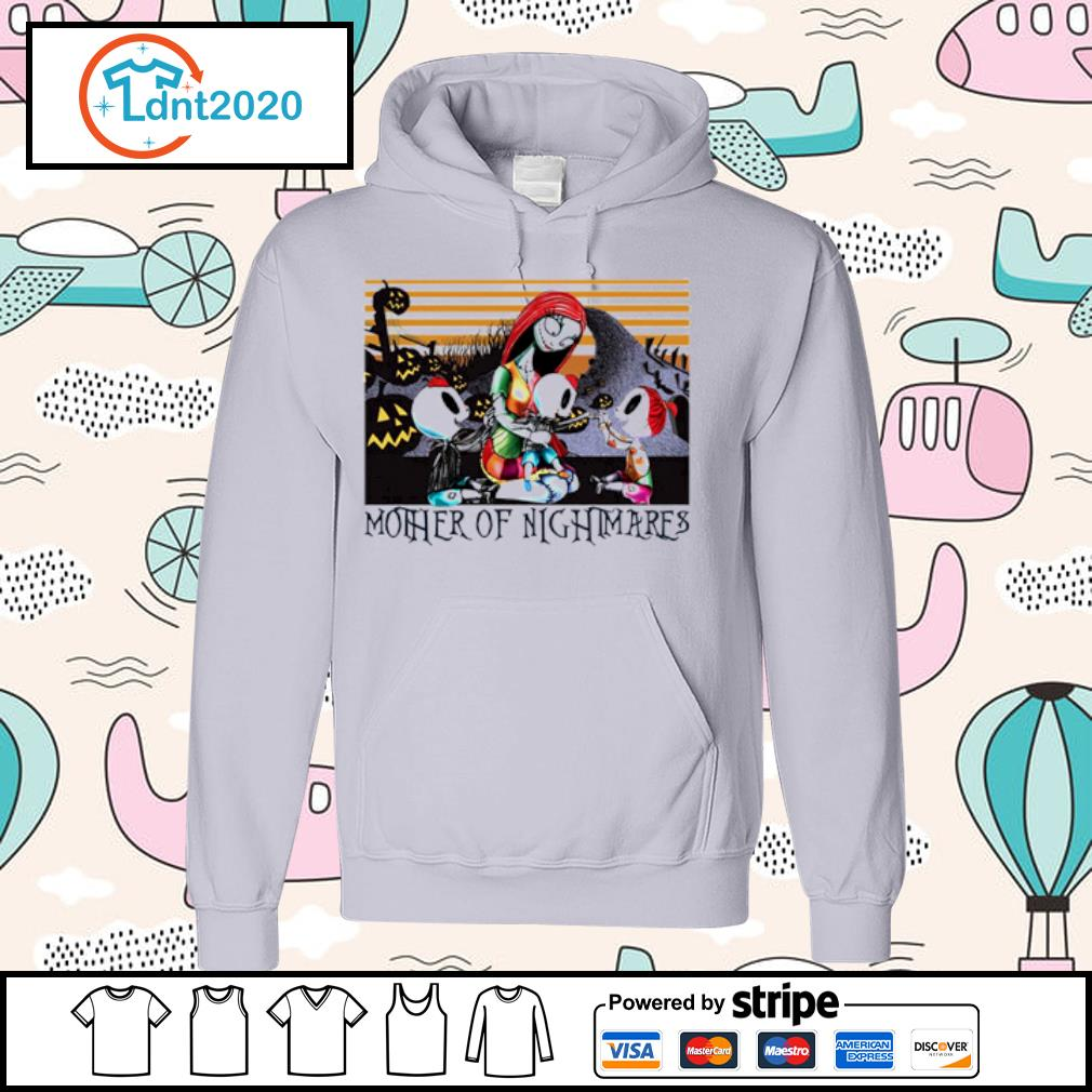 Sally two boys a girl Mother of Nightmares vintage s hoodie