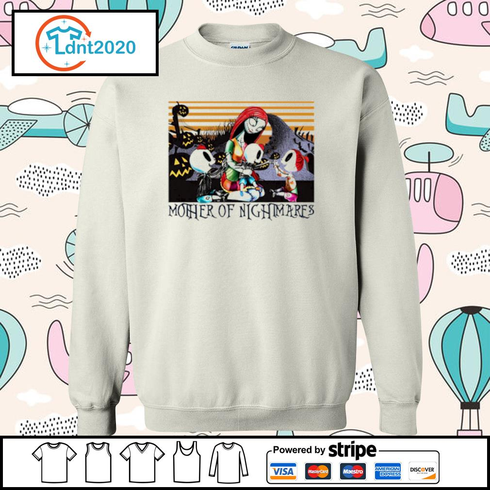 Sally two boys a girl Mother of Nightmares vintage s sweater