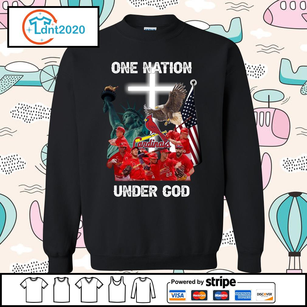 St. Louis Cardinals one nation under God s sweater