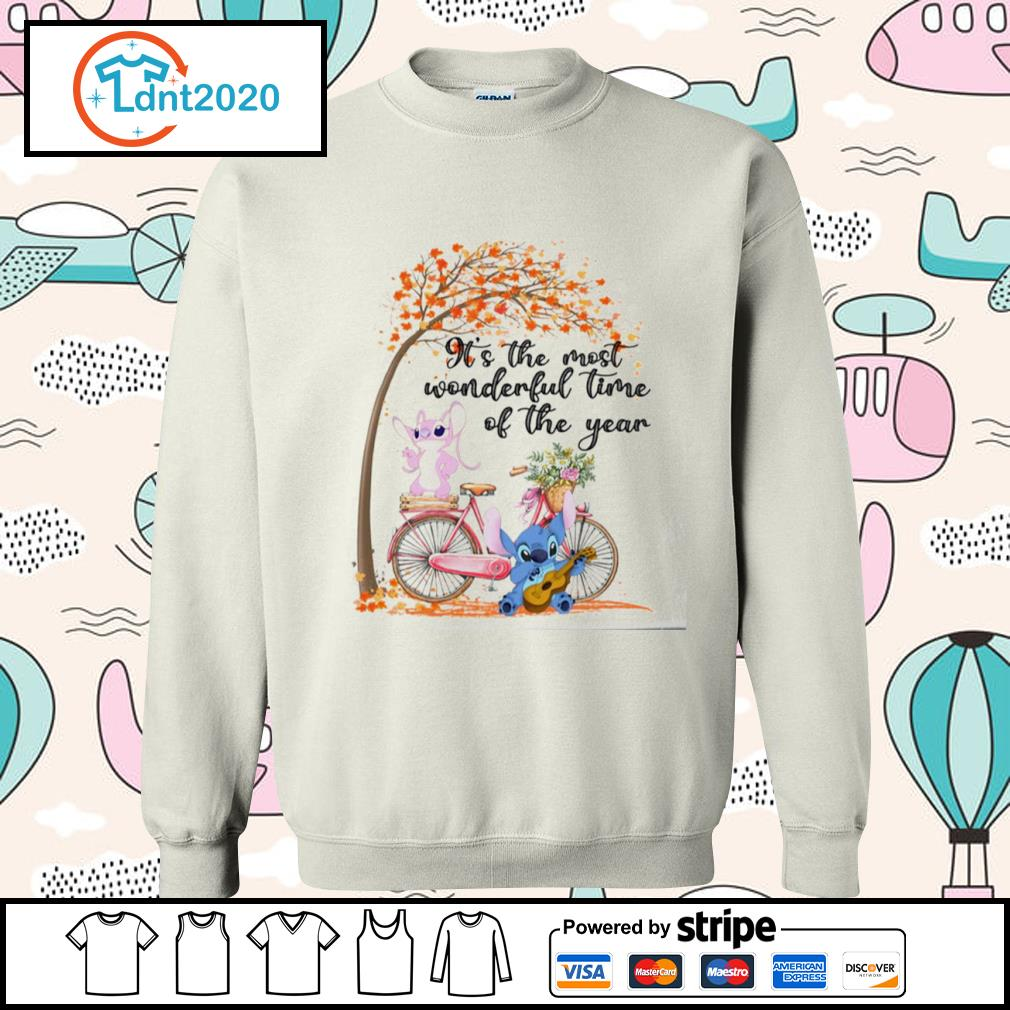 Stitch and Angel it's the most wonderful time of the year s sweater
