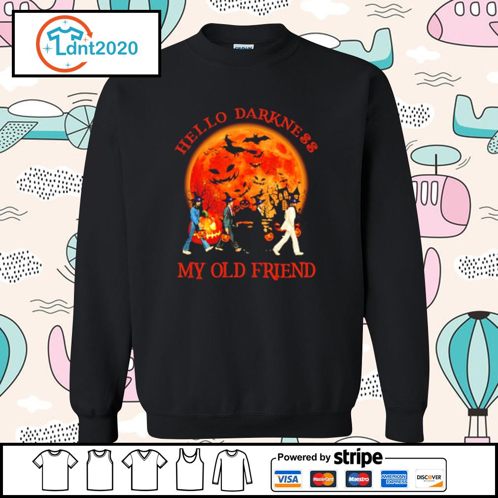 Beatles hello darkness my old friend s sweater