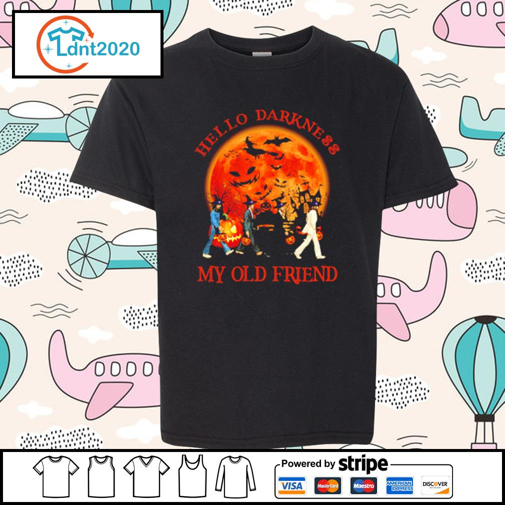 Beatles hello darkness my old friend s youth-tee