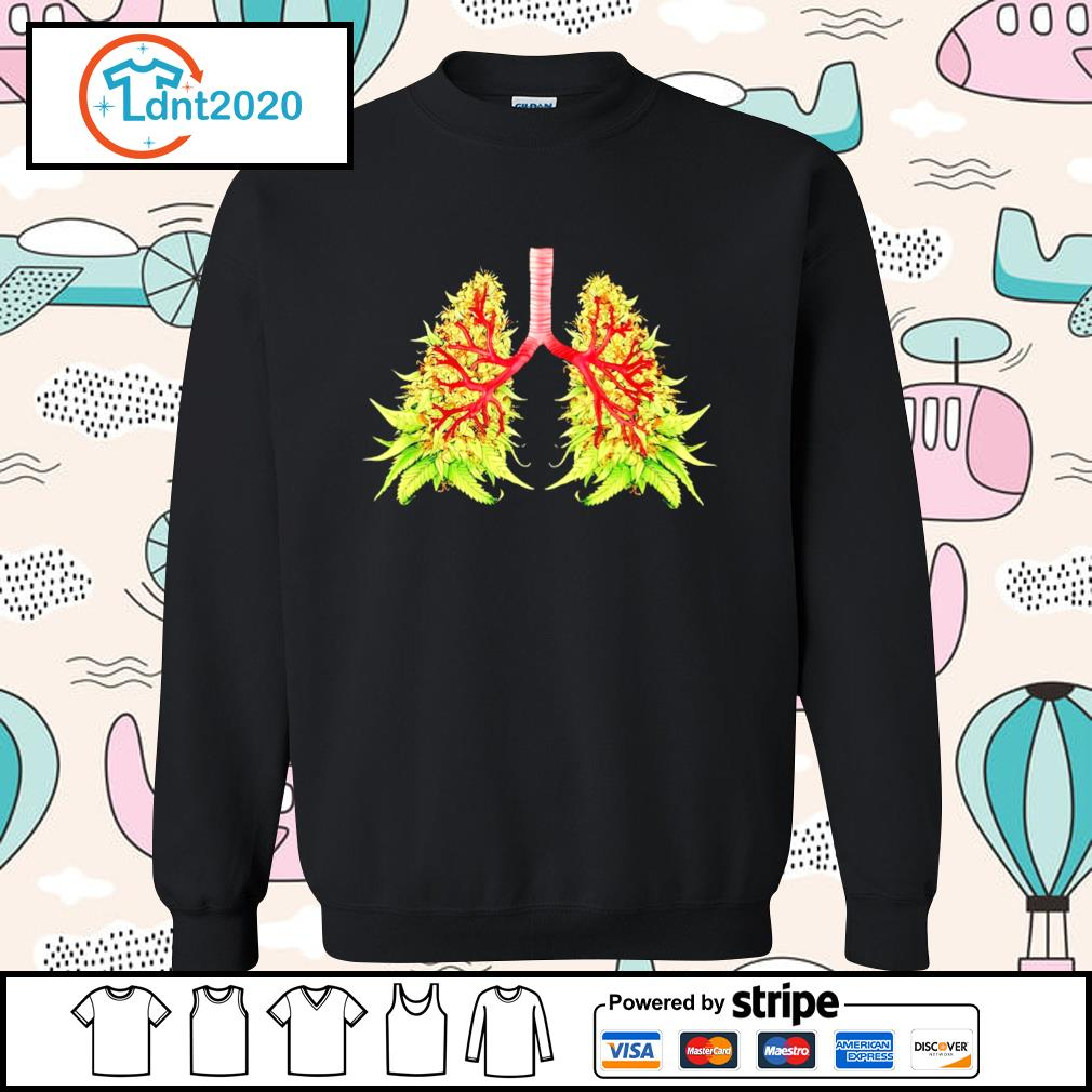 Cannabis lung tree s sweater