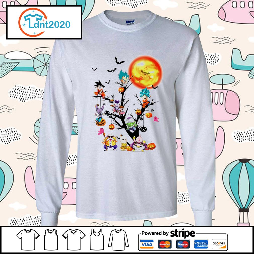Dragon Ball Halloween tree s longsleeve-tee
