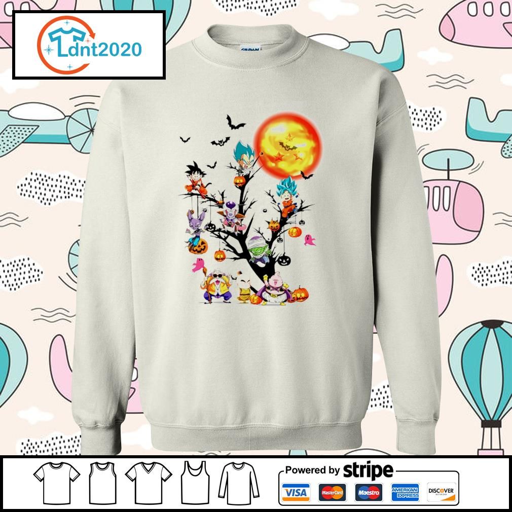 Dragon Ball Halloween tree s sweater