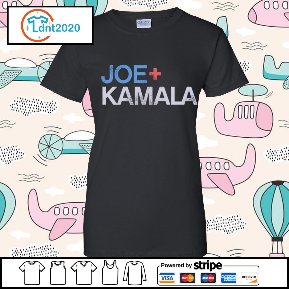 Joe plus Kamala Biden Harris s ladies-tee