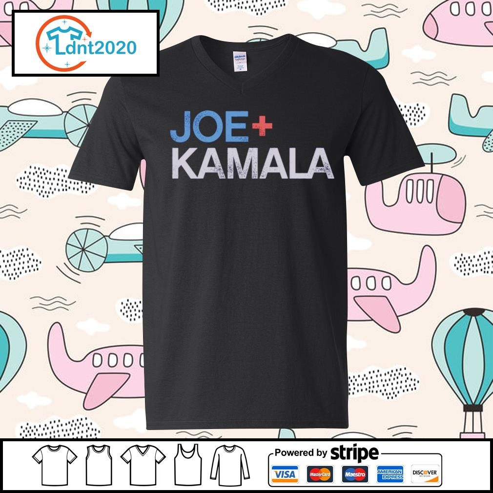 Joe plus Kamala Biden Harris s v-neck-t-shirt
