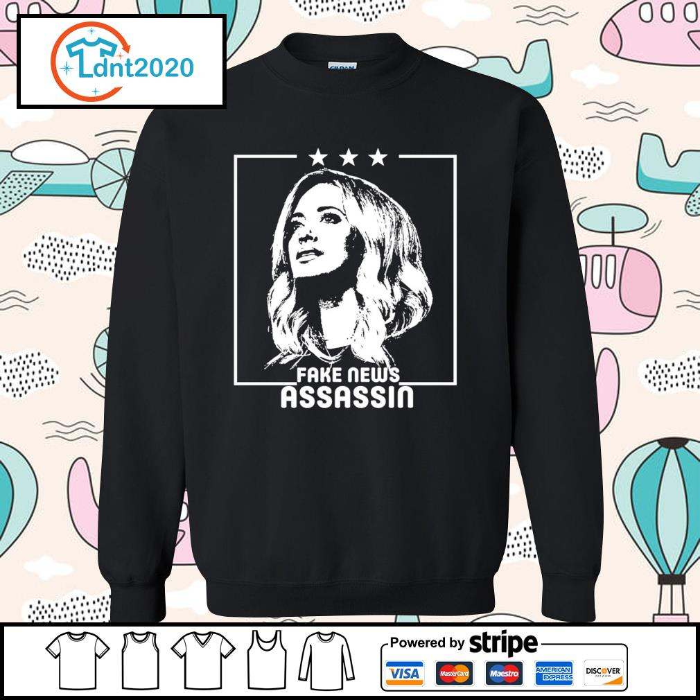 Kayleigh McEnany Fake news assassin s sweater