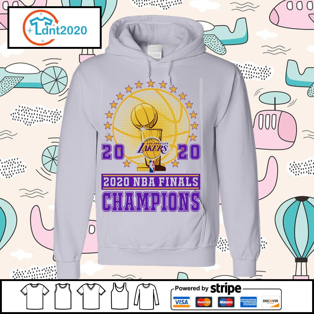 Los Angeles Lakers 2020 NBA finals champions s hoodie