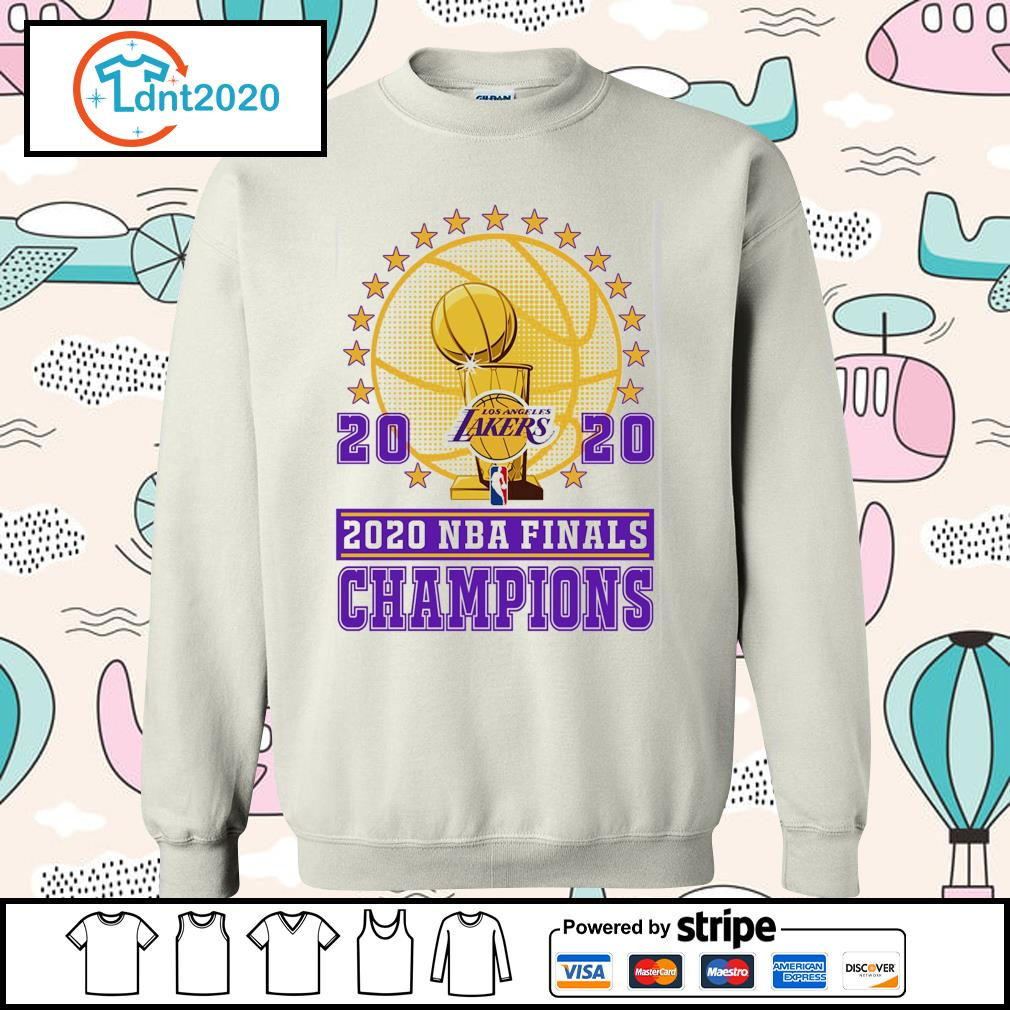 Los Angeles Lakers 2020 NBA finals champions s sweater