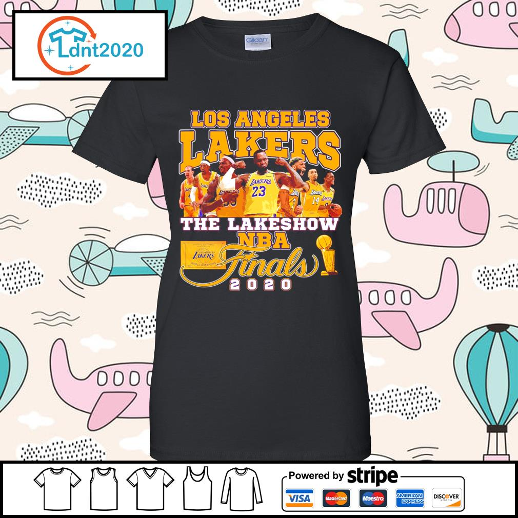 Los Angeles Lakers the lakeshow NBA finals 2020 s ladies-tee