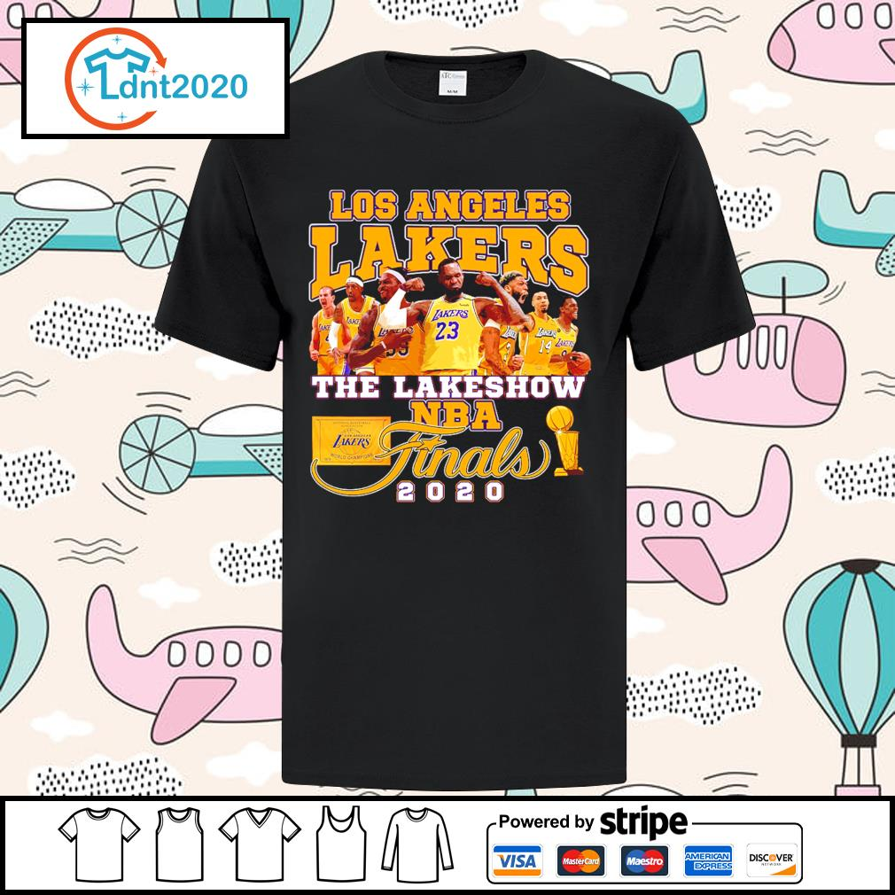 Los Angeles Lakers the lakeshow NBA finals 2020 shirt
