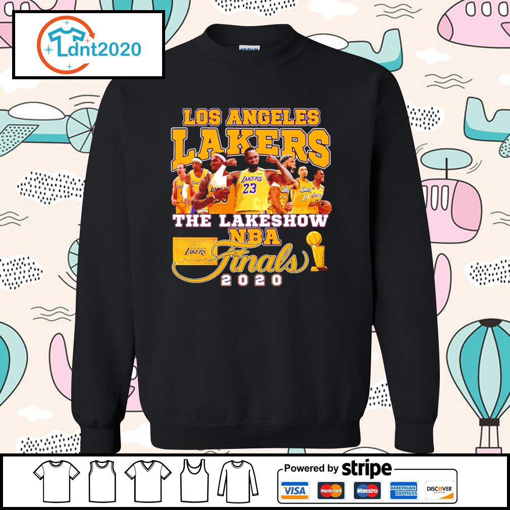 Los Angeles Lakers the lakeshow NBA finals 2020 s sweater