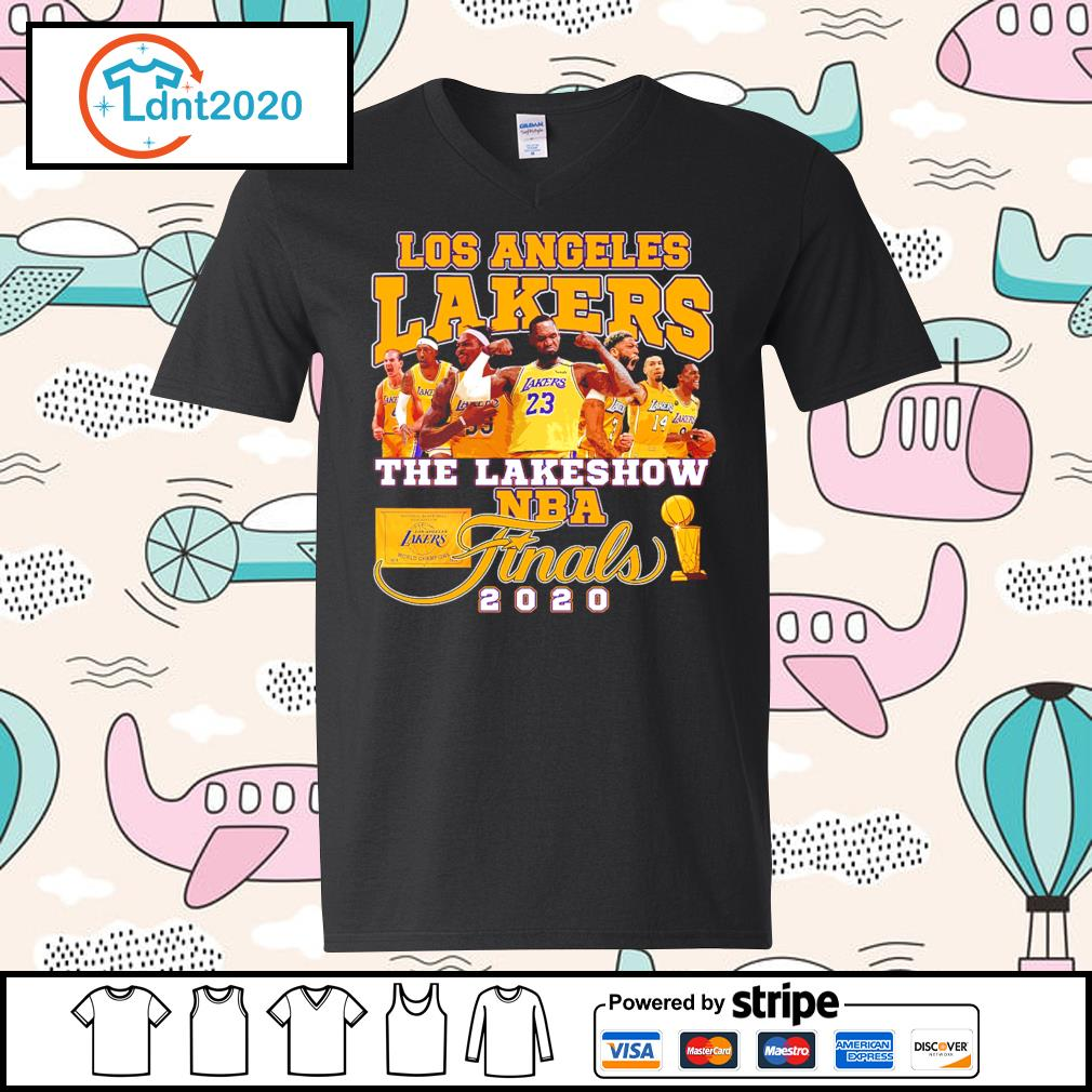 Los Angeles Lakers the lakeshow NBA finals 2020 s v-neck-t-shirt