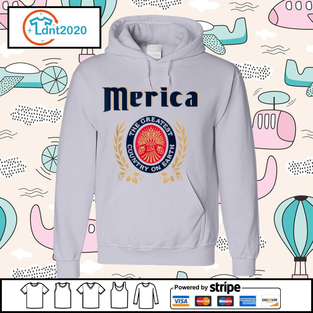 Merica the greatest country on earth Beer lovers s hoodie