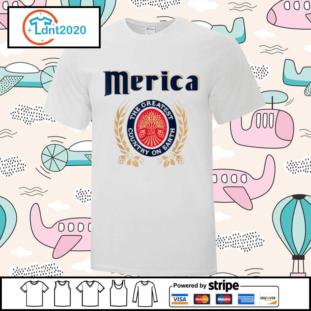 Merica the greatest country on earth Beer lovers shirt