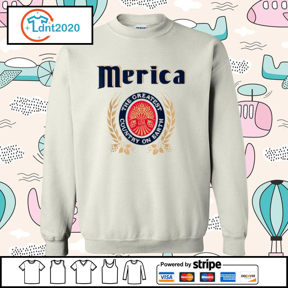 Merica the greatest country on earth Beer lovers s sweater