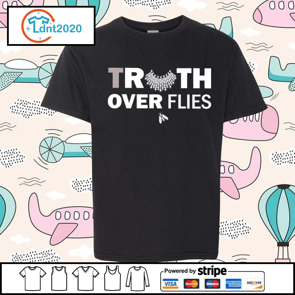 Ruth truth over flies s youth-tee