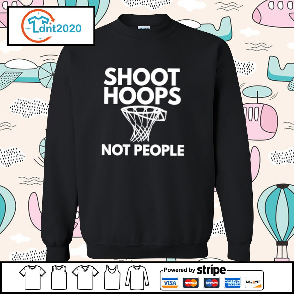 Shoot Hoops not people s sweater