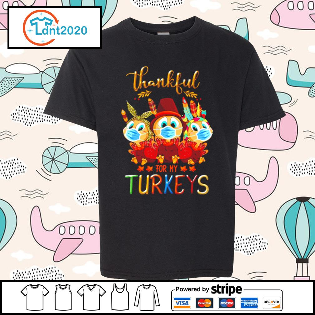 Thankful for my Turkeys s youth-tee