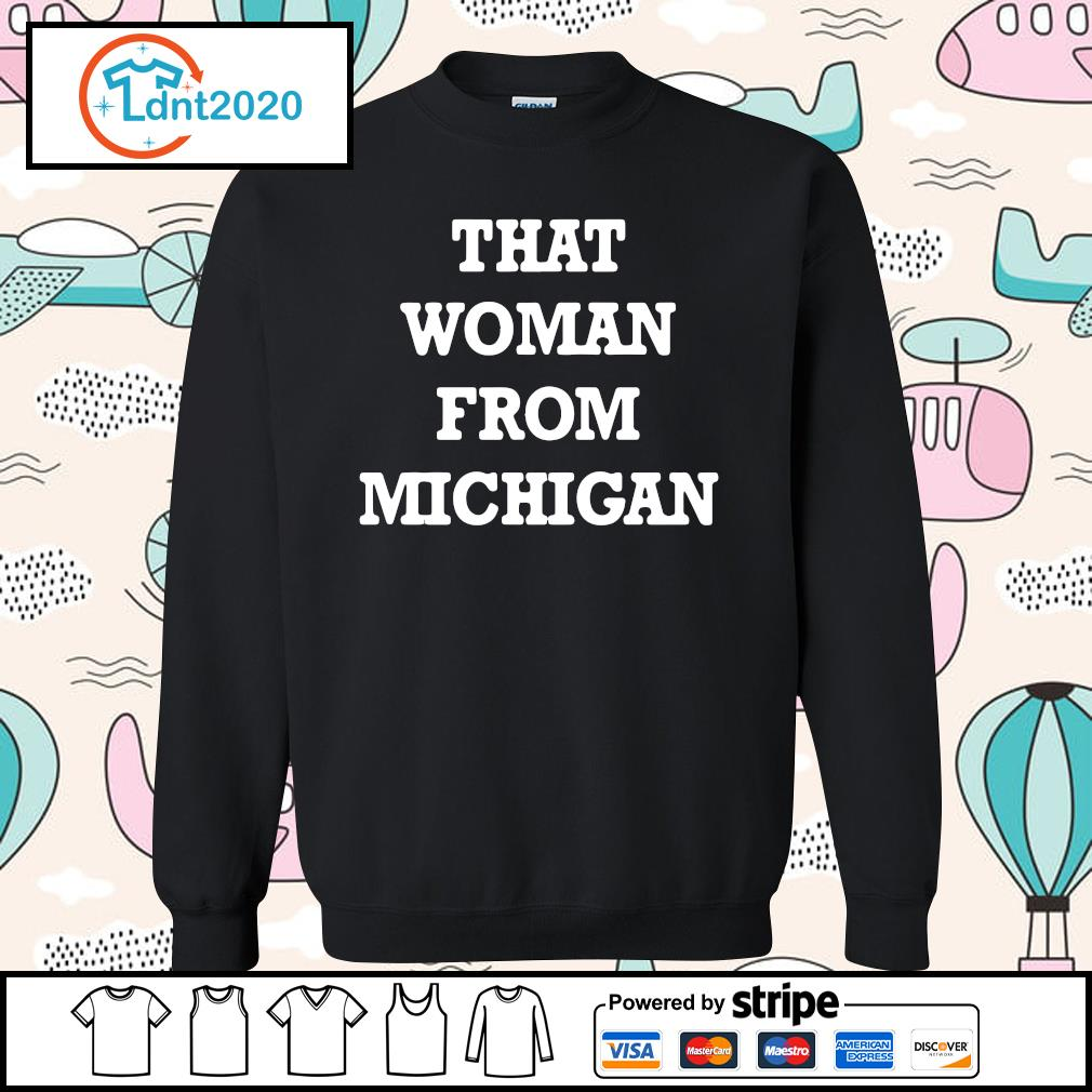 That woman from Michigan s sweater