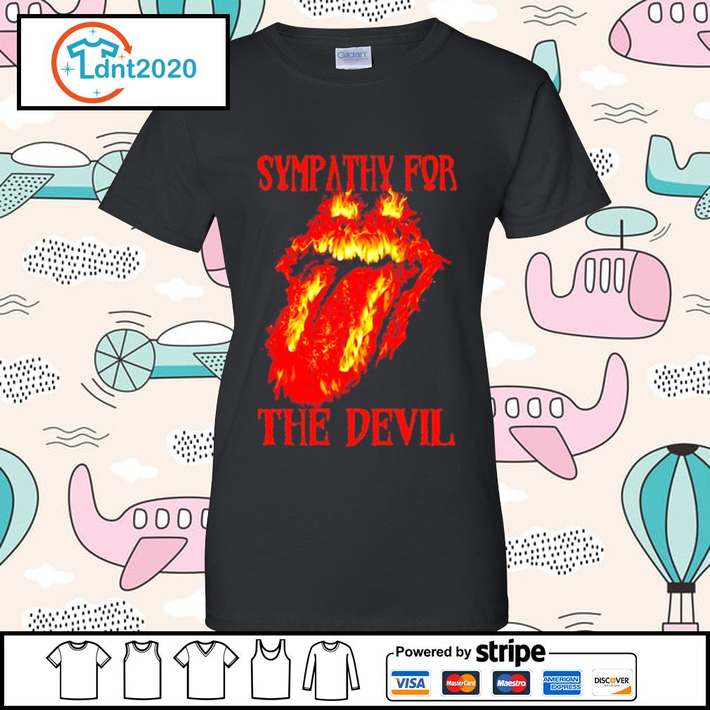 The Rolling Stones Sympathy for the devil s ladies-tee