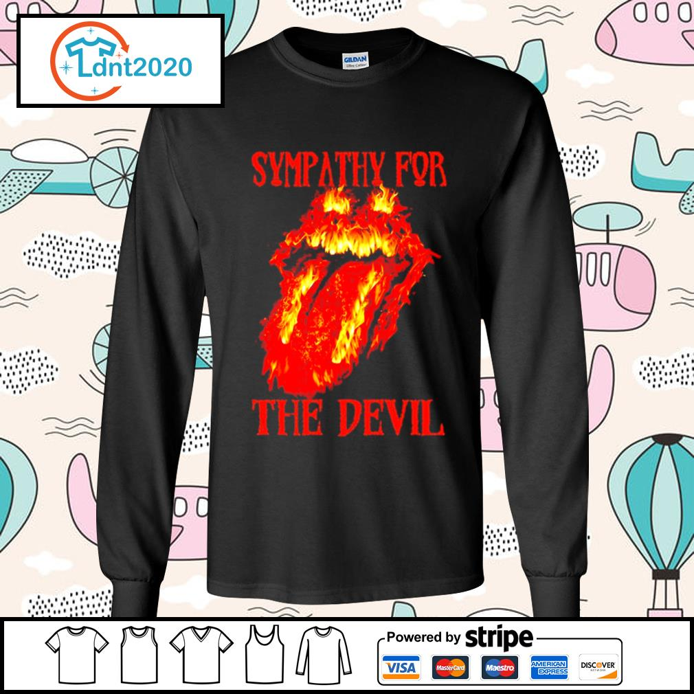 The Rolling Stones Sympathy for the devil s longsleeve-tee