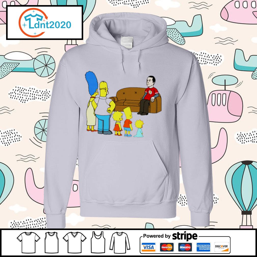 The Simpsons family X The Big Bang Theory s hoodie